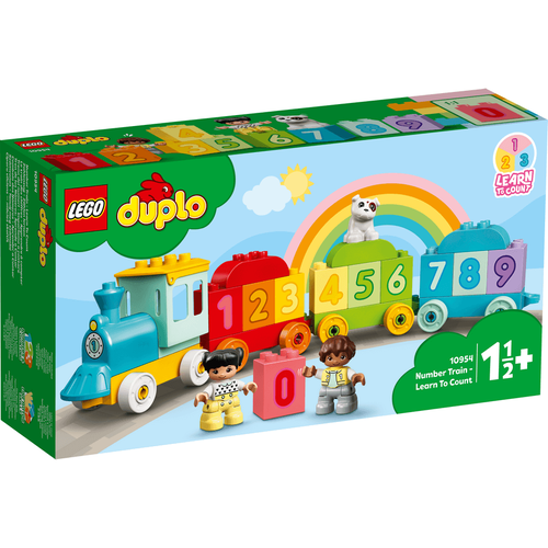 LEGO Duplo Learn To Count Number Train 10954