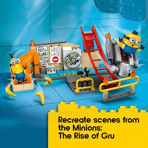 LEGO Minions in Gru's Lab 75546