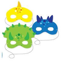 Amscan Dinosaur Mask 6 Pieces