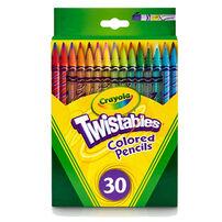 Crayola 30 Twistable Colored Pencils