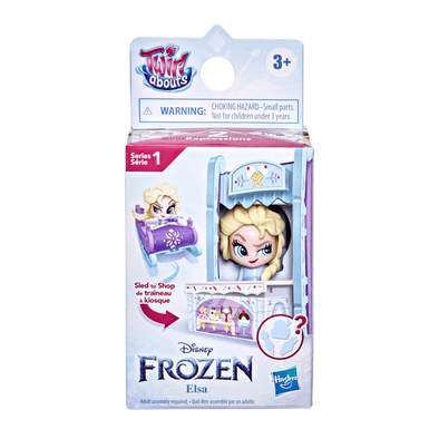 Disney Frozen 2 Twirl Abouts Series 1 Elsa Sled To Shop Playset