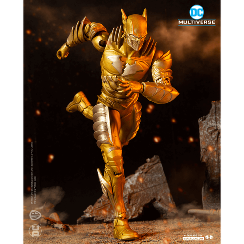 DC McFarlane Multiverse Gold Label Series The Flash Earth 52