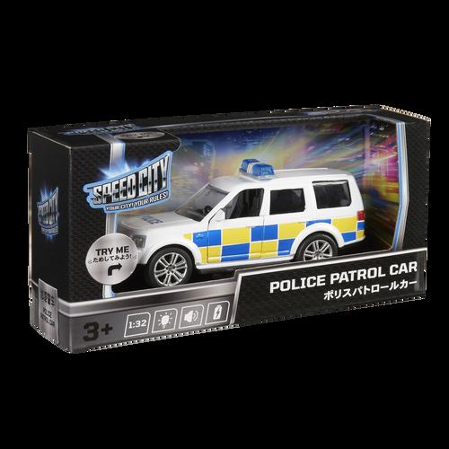 Speed City Police Patrol Car