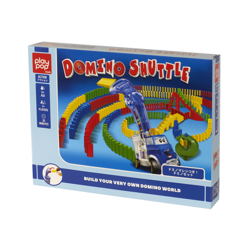 Play Pop Domino Shuttle Action Game