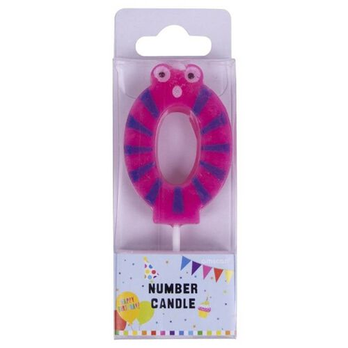 Amscan Figure Number 0 Candle