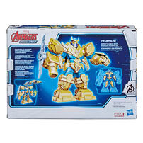 Marvel Avengers Mech Strike 7 Inch Infinity Mech Suit Thanos And Blade Weapon