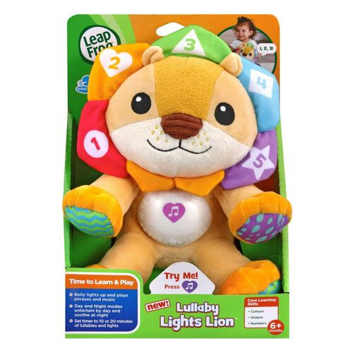 LeapFrog Lullaby Lights Lion
