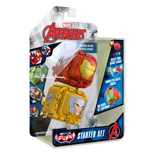 Marvel Avengers Battle Cube Iron Man vs. Thor 2 Pack