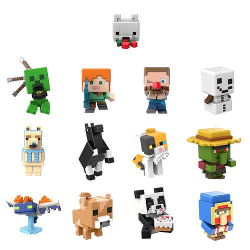 Minecraft Mini Figures Multi-Themed - Assorted
