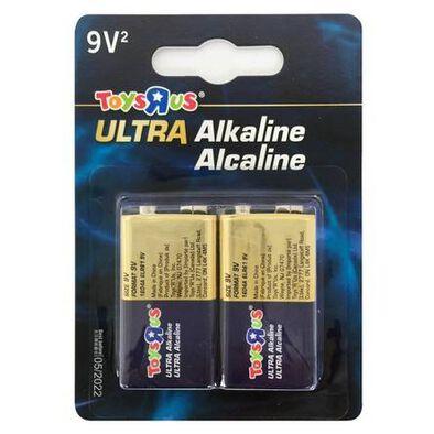 "Toys""R""Us Ultra Alkaline 9V 2's"