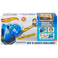 Hot Wheels Track Builder Rev 'n Launch Challenge
