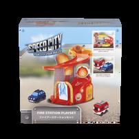 Speed City Junior Fire Station Playset