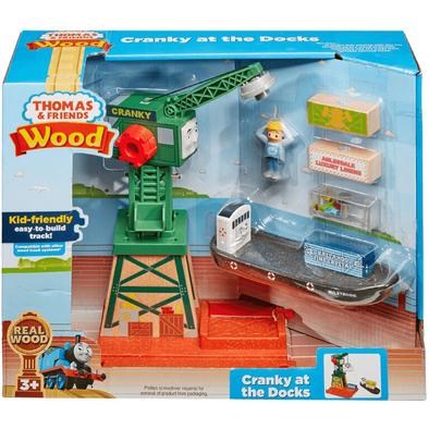Thomas & Friends Wood Cranky At The Docks