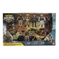 Soldier Force Patrol Figure Playset