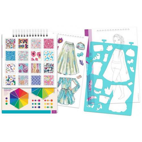 Make It Real Fashion Design Sketchbook: Blooming Creativity