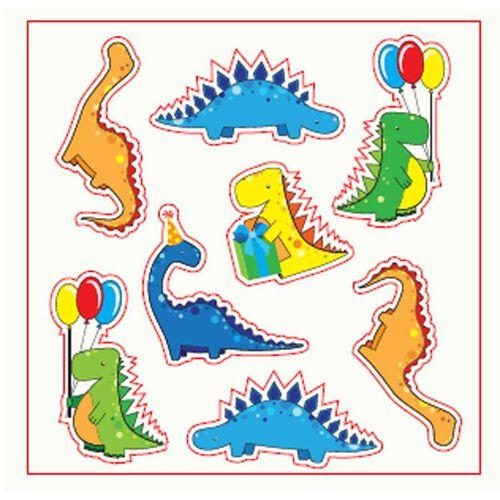 Amscan Invitation Card 6 Pieces (Dinosaurs)