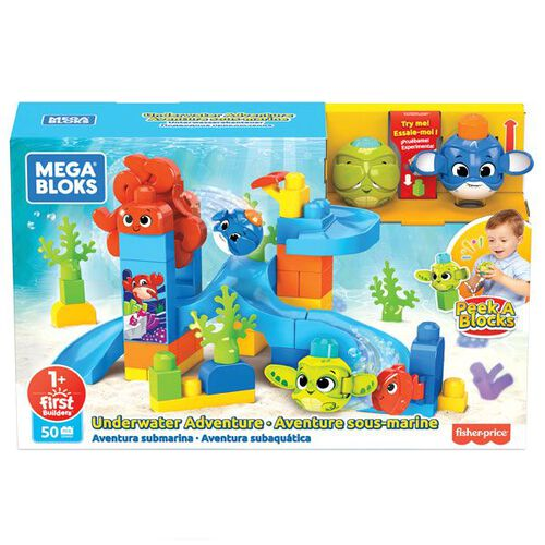 Mega Bloks Peek A Blocks Underwater Adventure