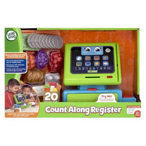 LeapFrog Count Along Register