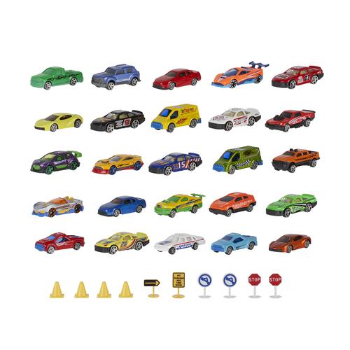 Speed City 35 Piece Diecast & Accessory Pack