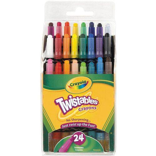 Crayola 24 Ct Mini Twistable Crayons