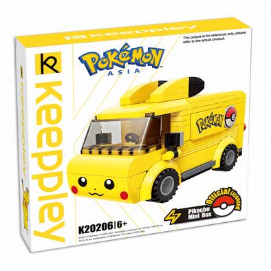 Qman Keeppley Pokémon Pikachu Mini Bus