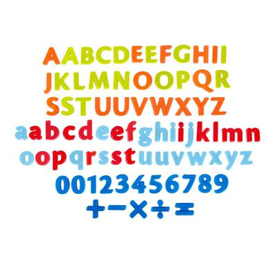 Grow'N Up 80 Pieces Magnetic Letter, Number & Signs