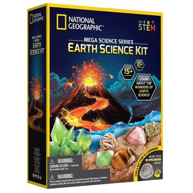 National Geographic Mega Earth Science Kit