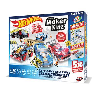 Hot Wheels Maker Kit 5 Pack - Assorted