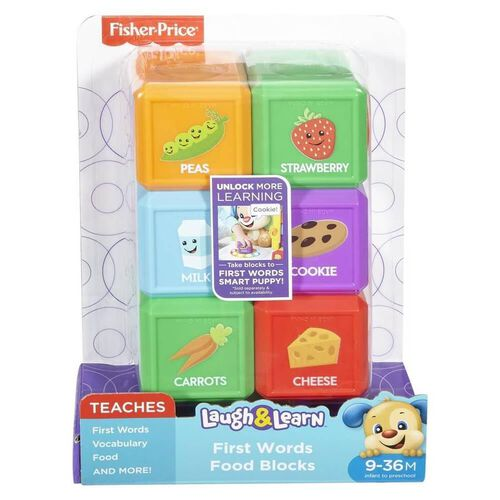 Fisher-Price Laugh & Learn 6 Pack Block - Assorted