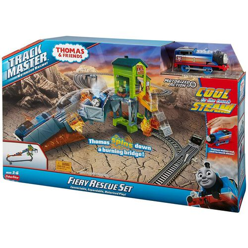 Thomas & Friends Track Master Fiery Rescue Set