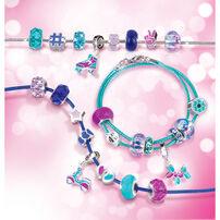 Make It Real Halo Charms Bracelets True Blue