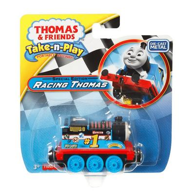 Thomas & Friends Take-N-Play Special Edition Racing Thomas