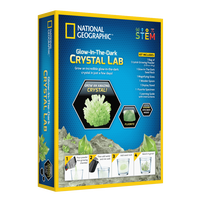 National Geographic Glow In Dark Crystal Green