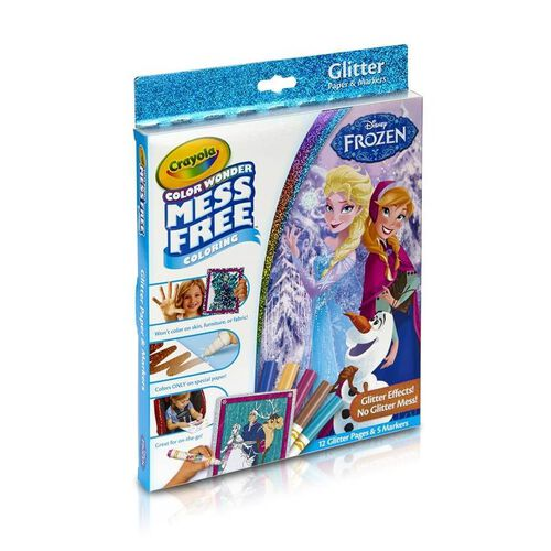 Crayola Color Wonder Disney Frozen Glitter