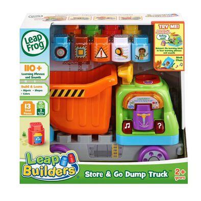 LeapFrog LeapBuilder Store & Go Dump Truck