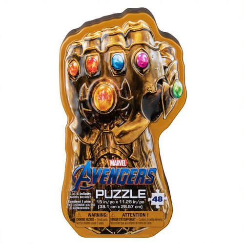 Marvel Avengers Infinity War Signature Puzzle Tin