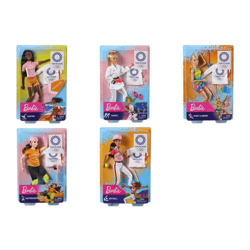 Barbie Doll Tokyo 2020 Olympics - Assorted