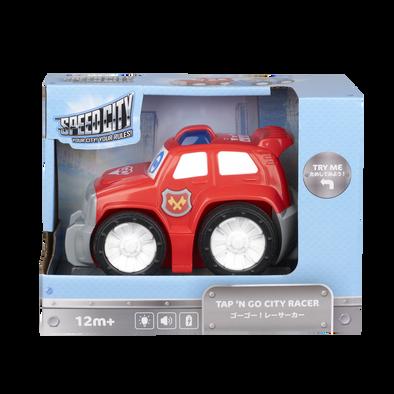 Speed City Junior Tap 'N Go City Racer Red