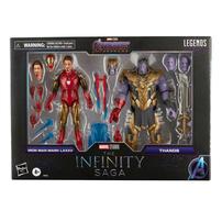 Marvel Legends Series Infinity Saga Iron Man Mark 85 & Thanos