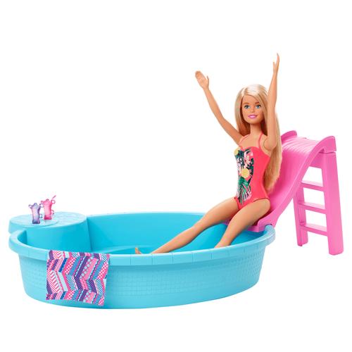 Barbie Doll & Pool Playset
