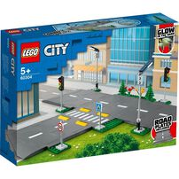 Lego City Town Road Plates 60304