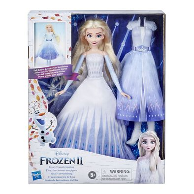Disney Frozen 2 Elsa Transformation Doll