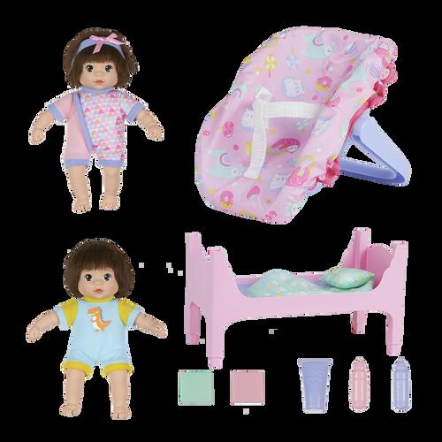 Baby Blush Mini Love Twins Nursery Doll Set