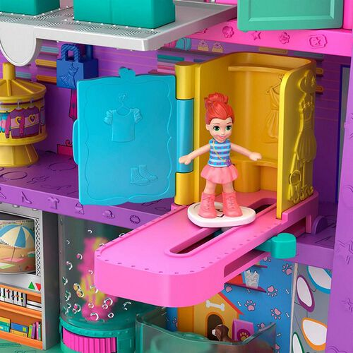 Polly Pocket Pollyville Mega Mall