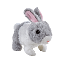 Pitter Patter Pets Teeny Weeny Bunny Grey & White