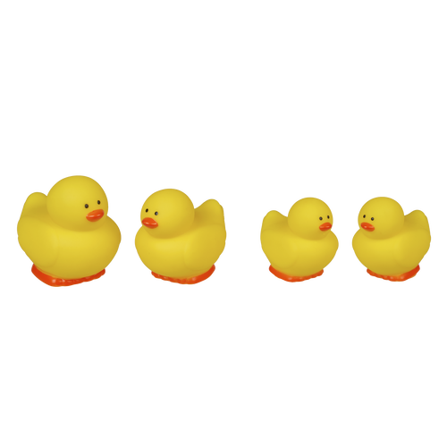 Top Tots Bath-Time Squishy Ducks