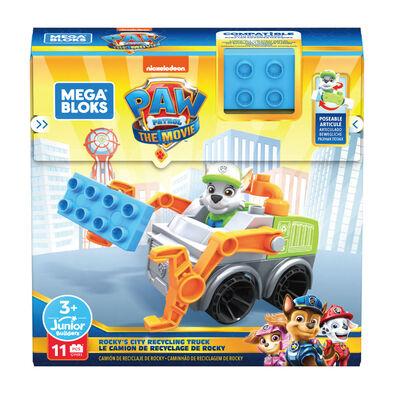 Mega Bloks Paw Patrol Rocky's City Recycling Truck