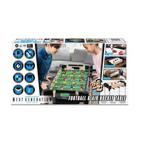 Merchant Ambassador 27 Inch 2 In 1 Games Table With Steel