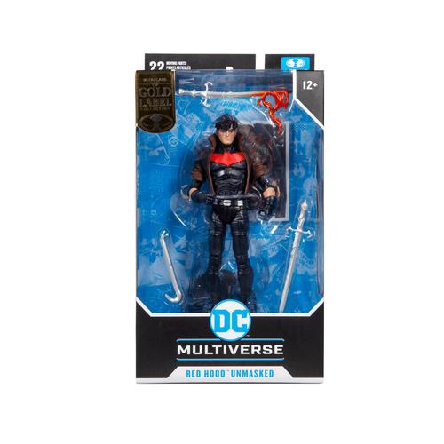 DC McFarlane Multiverse Gold Label Series Red Hood Unmasked