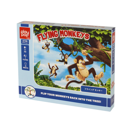 Play Pop Flying Monkeys Action Game